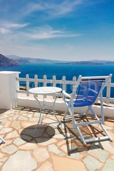 caldera of Santorini, Greece Stock photo © neirfy
