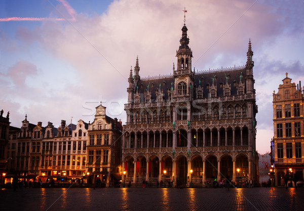 medieval Maison du Roi, Brussels Stock photo © neirfy