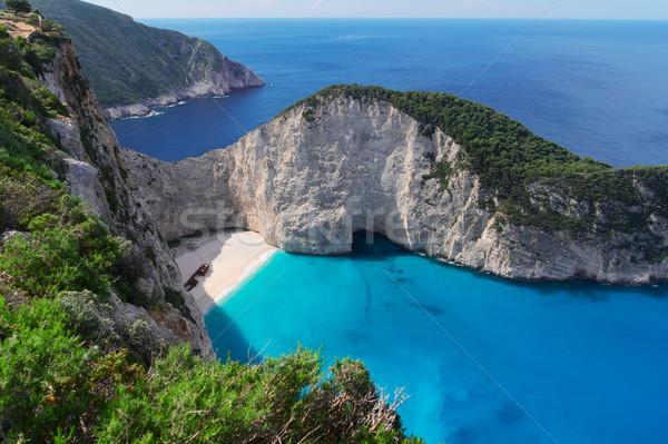 Güzel ada görmek plaj ünlü gökyüzü Stok fotoğraf © neirfy