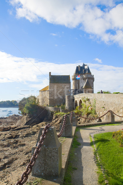 Solidor Tower, Saint Malo, France Stock photo © neirfy