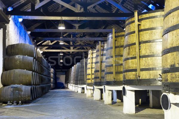 погреб вино традиционный порта Сток-фото © neirfy