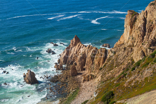 Cabo da roca, Portugal Stock photo © neirfy
