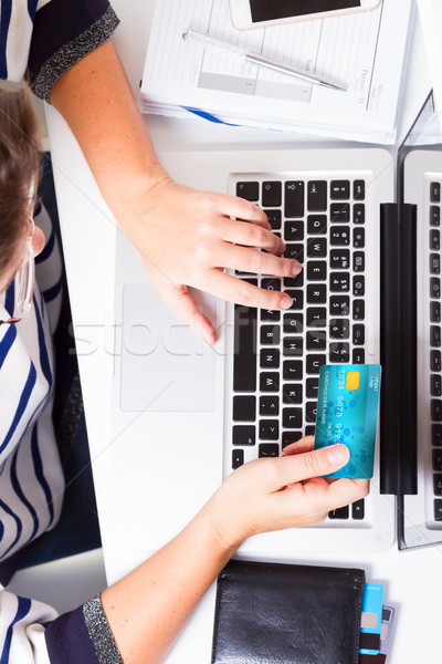 Online shopping concept Stock photo © neirfy