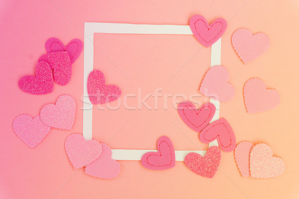 Valentines day frame Stock photo © neirfy