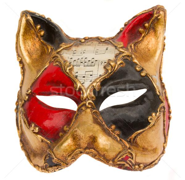 ベネチアンマスク クラシカル ベニスの カーニバル マスク 孤立した ストックフォト © neirfy