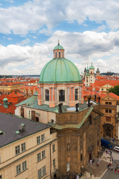Saint Francis of Assisi Church, Prague Stock photo © neirfy