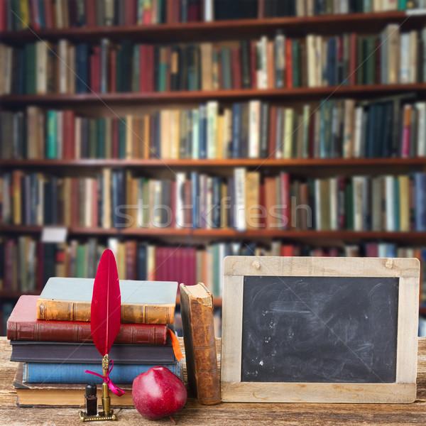 Bookshelf Stock photo © neirfy