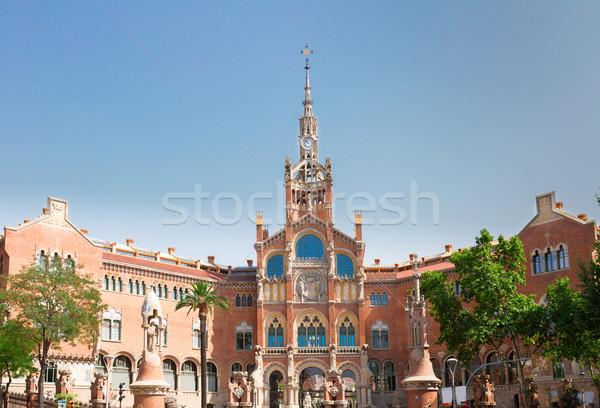 Hospital Sant Pau, Barcelona, Spain Stock photo © neirfy