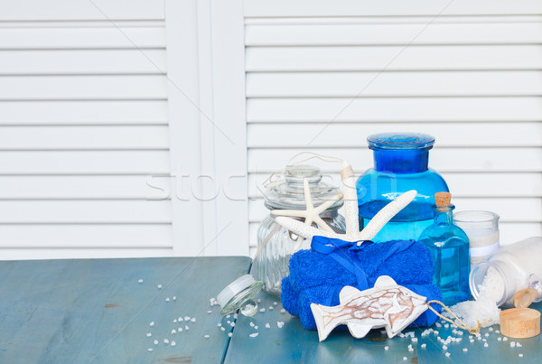 sea salt spa Stock photo © neirfy