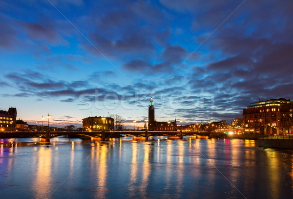 cityhall of Stockholm, Sweden Stock photo © neirfy