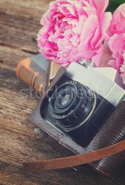 retro photo camera Stock photo © neirfy