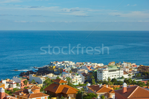 Puerto de la Cruz, Tenerife, Spain Stock photo © neirfy