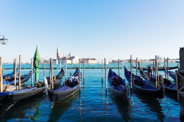 Ilha Veneza Itália ver água Foto stock © neirfy