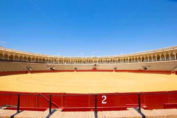 bullfight arena  in Seville, Spain Stock photo © neirfy