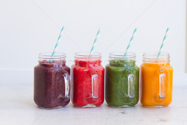 Fresh smoothy drink Stock photo © neirfy