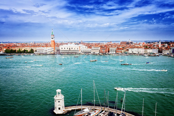Stock photo: San Marco square waterfront, Venice