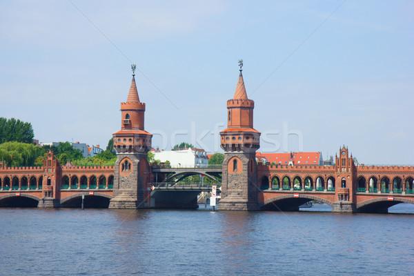 Oberbaumbridge, Berlin, Germany Stock photo © neirfy