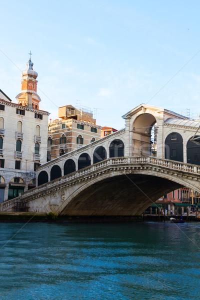 Foto stock: Ponte · Veneza · Itália · ver · água · cidade
