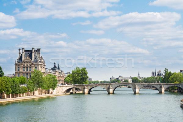 королевский Париж реке Франция небе лет Сток-фото © neirfy