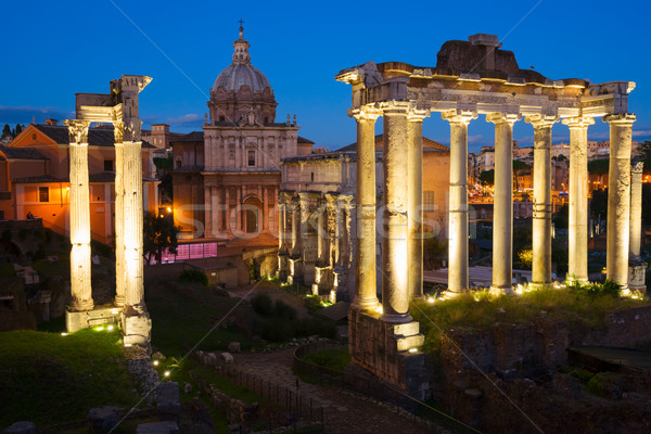 форуме римской руин Рим Италия древних Сток-фото © neirfy