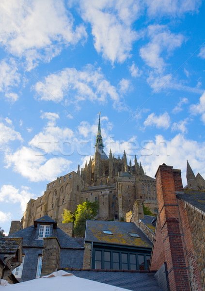 Abbey  of Mont Saint Michel, France Stock photo © neirfy