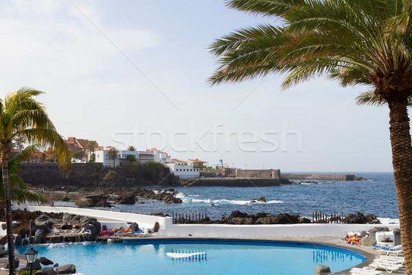 Openbare la tenerife Spanje eiland zee Stockfoto © neirfy