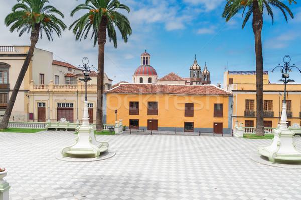 La Orotava, Tenerife village Stock photo © neirfy