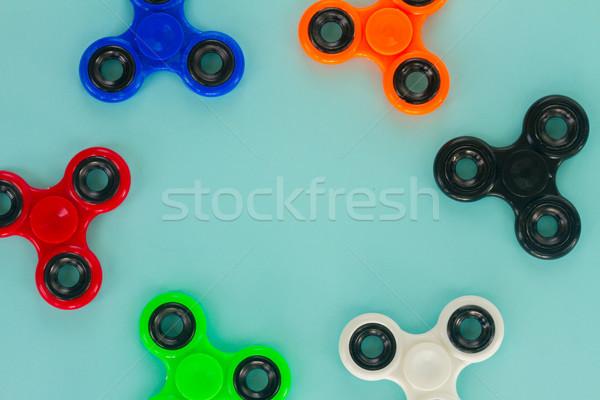 Népszerű megnyugtató játék általános terv keret Stock fotó © neirfy