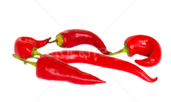 red chili peppers Stock photo © neirfy
