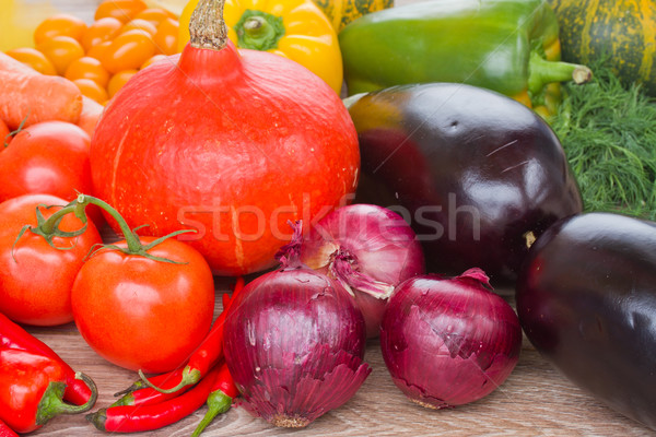 ripe of vegetables Stock photo © neirfy