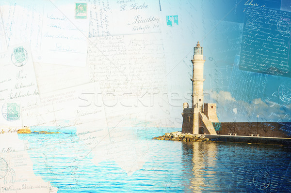 habour of Chania, Crete, Greece Stock photo © neirfy