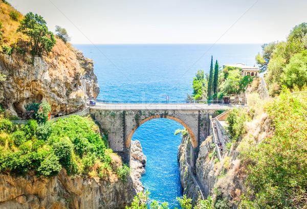 út part Olaszország híres festői nyár Stock fotó © neirfy