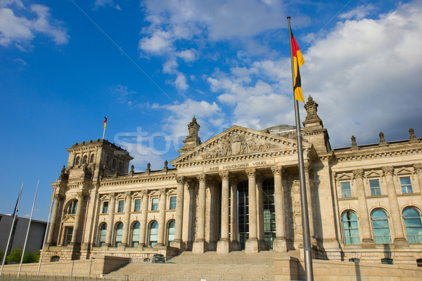 Reichstag building in Berlin, Germany Stock photo © neirfy