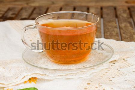 cup of black  tea Stock photo © neirfy