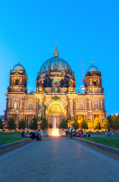 Berlin Cathedral church (Berliner Dom), Berlin, Germany Stock photo © neirfy