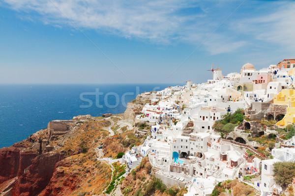 Tradizionale greco frazione skyline bianco mare Foto d'archivio © neirfy