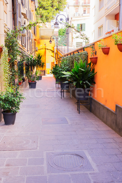 street of Naples, Italy Stock photo © neirfy