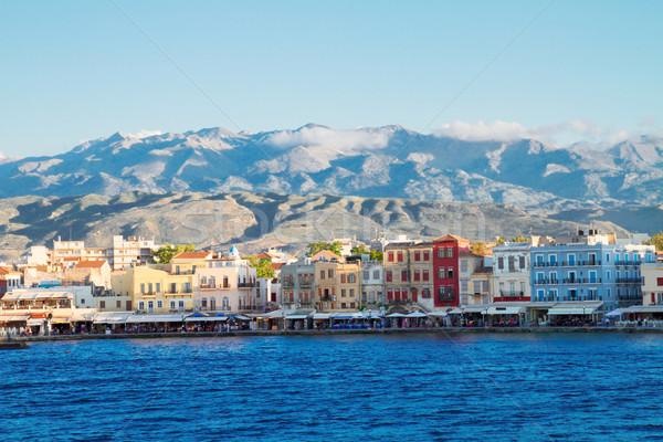 Venetian Grecia cer constructii natură Imagine de stoc © neirfy