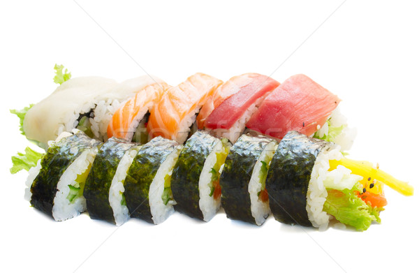 japaneese sushi Stock photo © neirfy