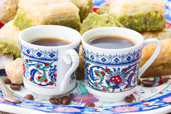 turkish coffee Stock photo © neirfy