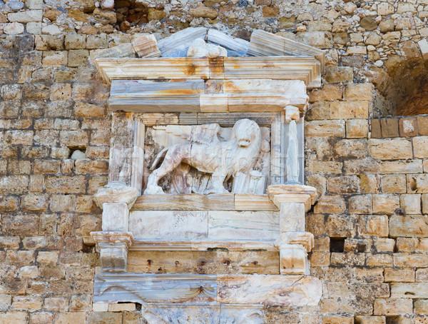 Heraklion fortress Crete, Greece Stock photo © neirfy