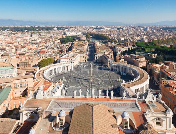 広場 バチカン ローマ イタリア ストックフォト © neirfy