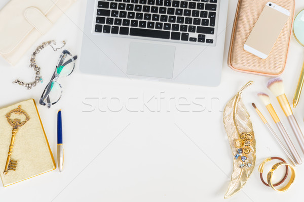 Offise desktop scene Stock photo © neirfy