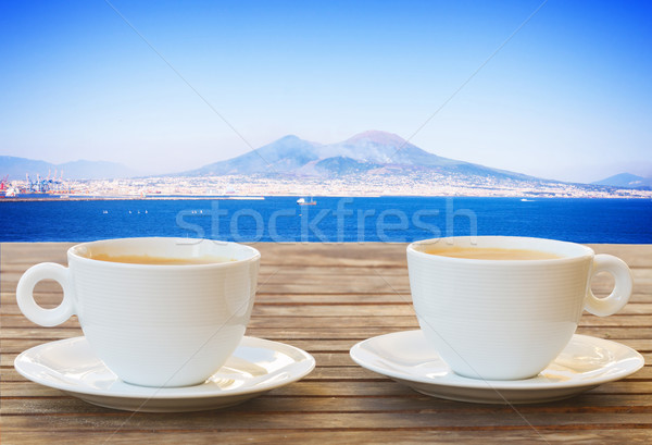 coffee for two in Naples Stock photo © neirfy