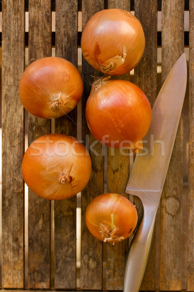 Stock photo: onion bulbs