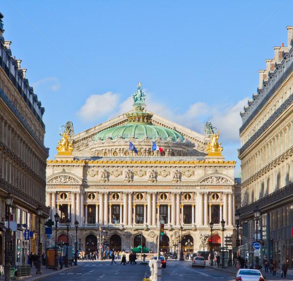 опера Париж Франция дома музыку здании Сток-фото © neirfy