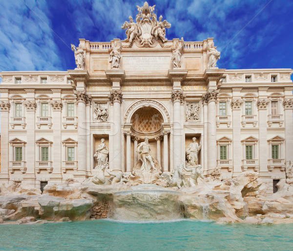 Fountain di Trevi in Rome, Italy Stock photo © neirfy