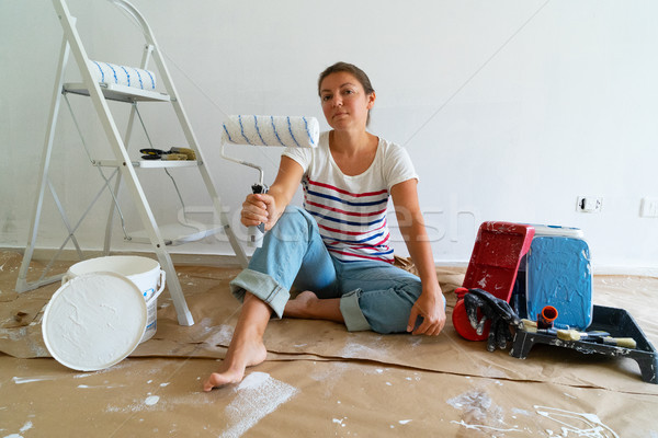 Do it yourself house renovations Stock photo © neirfy