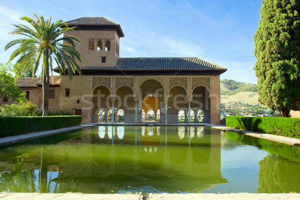 Alhambra of Granada, Spain Stock photo © neirfy