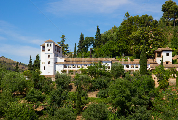 palace of Generalife, Granada, Spain Stock photo © neirfy